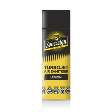 Sovereign turbojet air sanitiser freshener Lemon Sherbet